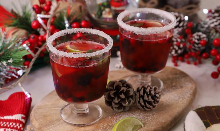 Χριστουγεννιάτικο punch από τον Γιώργο Τσούλη