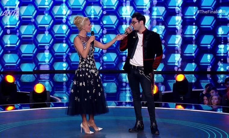 The Final Four: Η απίστευτη ατάκα της Μακρυπούλια στον Ίαν Στρατή για το X-Factor (Photos-Video)
