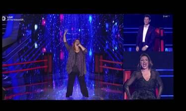 The Voice: Η γυμνάστρια ξεσήκωσε κριτές, κοινό και τηλεθεατές! Απίστευτη ενέργεια! (Pics-Vid)