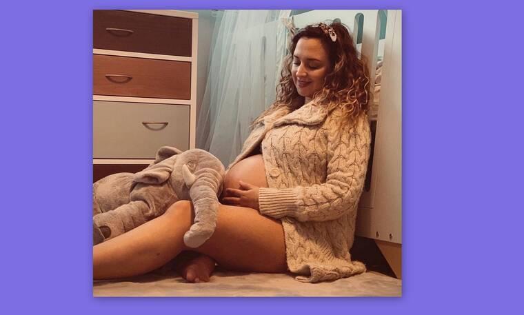 Κλέλια Πανταζή: Οι νέες φωτογραφίες του νεογέννητου μέσα από το μαιευτήριο