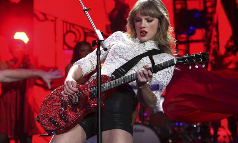 H Taylor Swift είναι η πιο ακριβοπληρωμένη performer του κόσμου