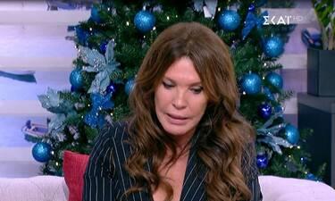 Βάνα Μπάρμπα: Λύγισε on air: Αυτά τα Χριστούγεννα θα είναι πολύ δύσκολα για μας» (Video & Photos)