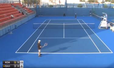 Αυτός είναι ο χειρότερος παίκτης του τένις! (video)