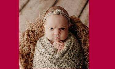 Αυτό το μωρό παίρνει «θυμωμένη» έκφραση όταν το φωτογραφίζουν και γίνεται αμέσως viral