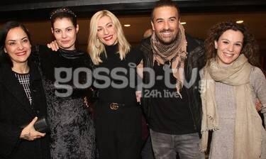 Ποιους είδαμε στην επίσημη πρεμιέρα της Μαρίας Κορινθίου; (Photos)