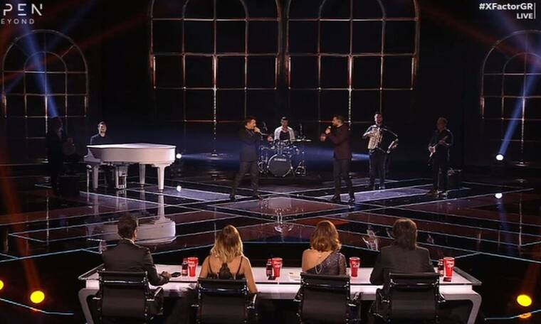 X Factor: Ο Δημήτρης Μπάσης συνάντησε τον Χρήστο Μάστορα on stage & ήταν αδυνατισμένος & αγνώριστος!