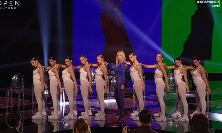 X Factor: Η Τάμτα ανέβασε τη θερμοκρασία στα ύψη με την εμφάνισή της (Video)