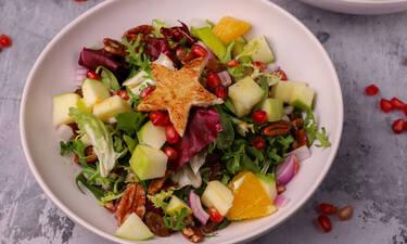 Γιορτινή σαλάτα από τον Γιώργο Τσούλη