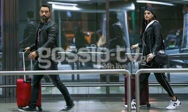 Σάκης Τανιμανίδης - Χριστίνα Μπόμπα: Απόδραση στη Θεσσαλονίκη! Ποιος τους περίμενε στο αεροδρόμιο;
