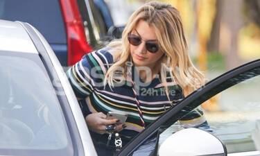Κωνσταντίνα Σπυροπούλου: Την «τσακώσαμε» στη Βουλιαγμένη με το καινούργιο της αυτοκίνητο! (Photos)
