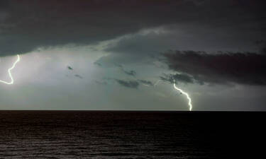 Έκτακτο δελτίο επικίνδυνων φαινομένων: Έρχονται ισχυρές καταιγίδες, χαλάζι και θυελλώδεις άνεμοι