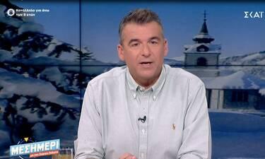 Γιώργος Λιάγκας: Δείτε τι αποκάλυψε on air για την περίοδο που ήταν παντρεμένος με την Σκορδά