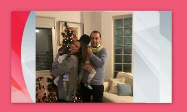 Λιάτσος – Καρποντίνη: Δείτε το υπέροχο σπίτι τους και… το «ξεχαρβαλωμένο» χριστουγεννιάτικο δέντρο