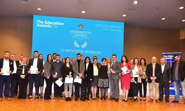 Το Mediterranean College Τιμά τους 10 «Κορυφαίους» & Επιβραβεύει τους 86 «Νικητές» της Εκπαίδευσης!