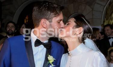 Αναστασία Καίσαρη: Το φωτογραφικό άλμπουμ του λαμπερού γάμου της με τον Thomas Persy (Photos)