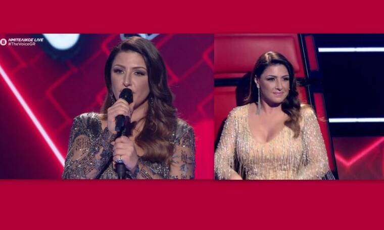 The Voice: Το δεύτερο εντυπωσιακό outifit της Έλενας Παπαρίζου και η εξομολόγηση on stage (Pics-Vid)