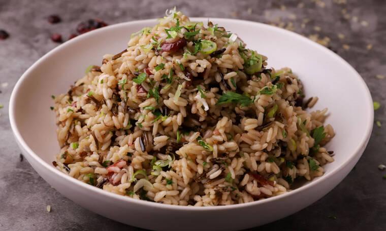 Χριστουγεννιάτικο ρύζι από τον Γιώργο Τσούλη
