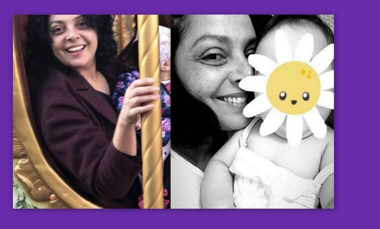 Βασιλική Ανδρίτσου: Tα πρώτα Χριστούγεννα με την κόρη της-  Δες όλες τις τρυφερές φώτο τους