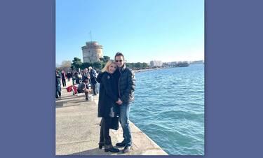 Μενεγάκη - Παντζόπουλος: Η τυχαία συνάντηση στο αεροδρόμιο και η αποκάλυψη της παρουσιάστριας