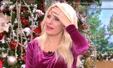 Κι όμως η Ελένη Μενεγάκη έκανε οτοστόπ- Δείτε τι έπαθε! (Video)