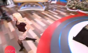 Ελένη Μενεγάκη: Άρχισε να τρέχει άρον άρον μέσα στο πλατό της εκπομπής της – Τι συνέβη;