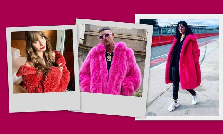 Η Ζενεβιέβ άνοιξε... ψιλή κουβεντούλα με τον Snik στο Instagram για τη περίφημη ροζ γούνα! (photos)