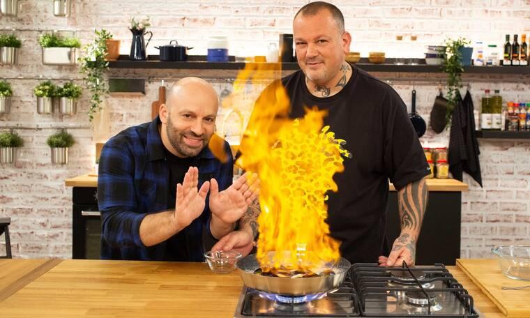 Food N' Friends: Πότε κάνει πρεμιέρα η μαγειρική εκπομπή Σκαρμούτσου-Φουντούλη;