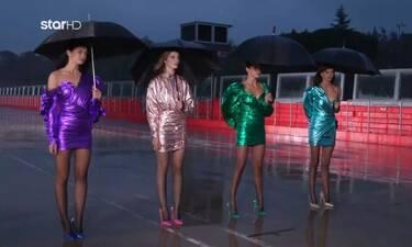 GNTM: H φωτογράφιση στη θρυλική πίστα της Ίμολα στη βροχή και το κρύο (video)