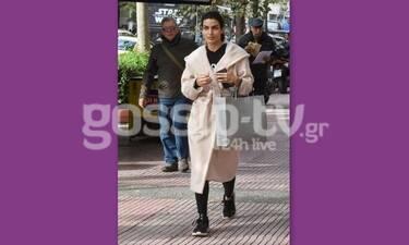 Τόνια Σωτηροπούλου: Για ψώνια στο Κολωνάκι με casual look (Photos)