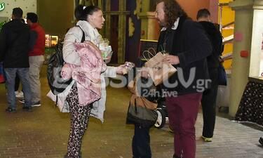 Χρήστος Δάντης: Θα πάθεις πλάκα όταν δεις τα δύο μικρά παιδιά του - Καρέ καρέ η βόλτα τους!