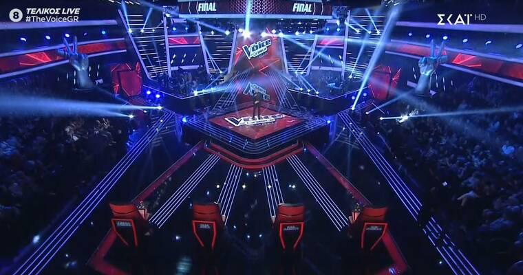 The Voice τελικός: H φαντασμαγορική έναρξη και η ανακοίνωση του Γιώργου Λιανού που μας εξέπληξε!