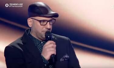 The Voice τελικός: Καθήλωσε η εμφάνιση του Δημήτρη Καραγιάννη!