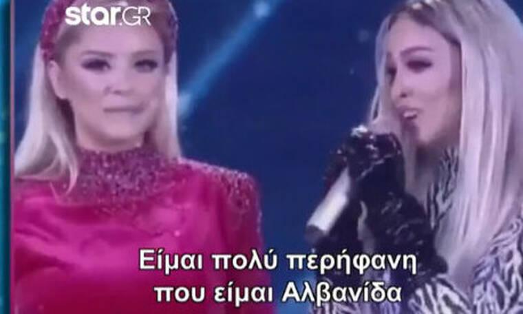 Eurovision 2020: Ελένη Φουρέιρα: «Είμαι πολύ περήφανη που είμαι Αλβανίδα» (Video)