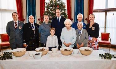 Αυτή είναι η πιο must συνταγή για… πουτίγκα! Δια χειρός πρίγκιπα George και βασίλισσας Ελισάβετ