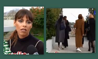 GNTM: Επικό! Η αντίδραση της Ντρίο όταν από μπροστά της πέρασε η Εύη Ιωαννίδου (Video)