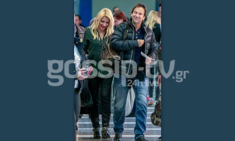 Μενεγάκη–Παντζόπουλος:Να γιατί είναι το ομορφότερο ζευγάρι της Ελληνικής showbiz–Μαζί στο αεροδρόμιο