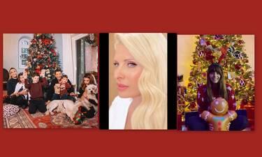 Χριστούγεννα 2019: Αυτές είναι φωτογραφίες με τις ευχές των επωνύμων που «έριξαν» το Instagram