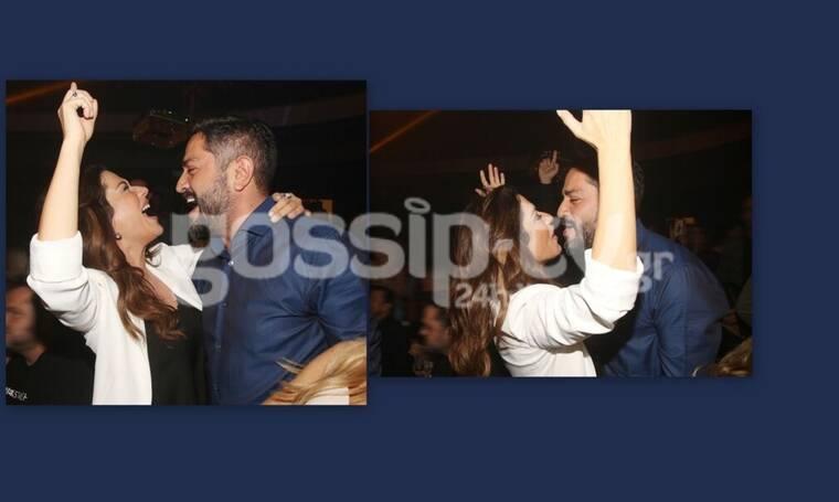 Λασκαράκη – Σουλτάτος: Ξεσάλωσαν! «Τρελαμένη» από έρωτα η Βάσω στην αγκαλιά του άντρα της (Photos)