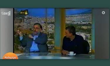 Καλημέρα Ελλάδα: Η σπάνια τηλεοπτική συνάντηση Θάνου και Ανδρέα Μικρούτσικου (Video)
