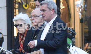 Νίκος Χατζηνικολάου: Βόλτα για ψώνια στο κέντρο της Αθήνας! (photos)