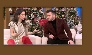 Γερονικολού-Τσιμιτσέλης: Η πρώτη κοινή τηλεοπτική συνέντευξη – Την κοιτά και.. λιώνει!