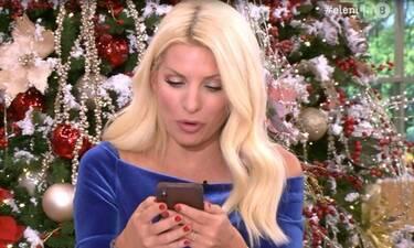 Ελένη: Δεν φαντάζεστε ποια παρουσιάστρια της έστειλε μήνυμα και το έδειξε on air!