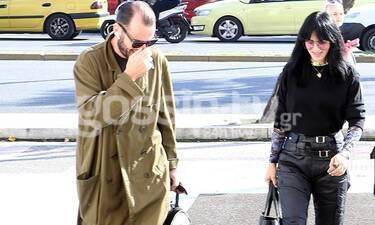 Ζενεβιέβ Μαζαρί: Και αν είναι ροκ… Μη τη φοβάσαι! Η εμφάνιση με τον σύζυγό της που δεν περιμέναμε!