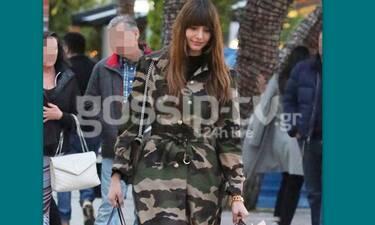 Ηλιάνα Παπαγεωργίου: Tην έχετε δει πώς βγαίνει για ψώνια; Απλά θα πάθετε πλάκα! (Photos)