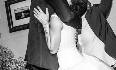 Παντρεύτηκε πριν έξι μήνες και μόλις δημοσίευσε τις φωτογραφίες του γάμου της και είναι απίθανες!