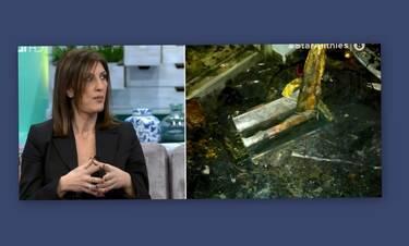 Ράνια Καρετζαφέρη: Πήρε φωτιά το σπίτι της από το χριστουγεννιάτικο δέντρο-Σοκαριστικές φωτό (Video)