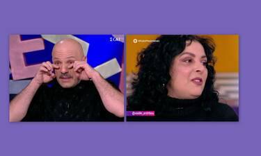 Καλό μεσημεράκι: Η εξομολογηση της Ανδρίτσου έκανε τον Μουτσινά να... δακρύσει! (Photos-Video)