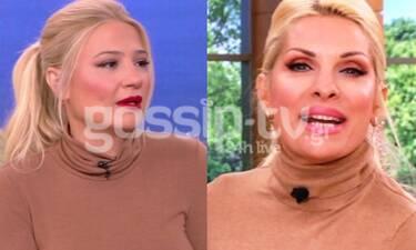 Κι όμως η Ελένη Μενεγάκη και η Φαίη Σκορδά φόρεσαν την ίδια μπλούζα με διαφορά μιας μέρας
