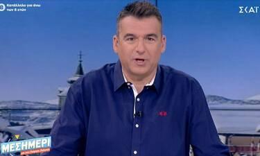 Γιώργος Λιάγκας: Η συγκίνησή του για την αποχώρηση της Ελεάννας Τρυφίδου από την εκπομπή του