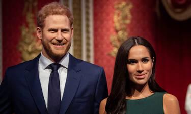 Το Μουσείο Κέρινων Ομοιωμάτων στο Λονδίνο χώρισε τη Meghan και τον Harry από τη βασιλική οικογένεια